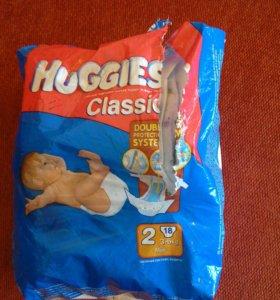 Подгузники Huggies 3-6кг