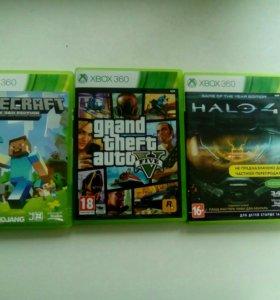 Gta,Halo 4, Mineceraft Xbox360