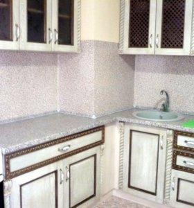 Кухонный гарнитур массив дуба