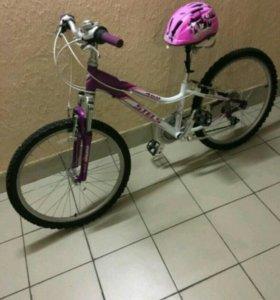 Горный велосипед шлем в подарок