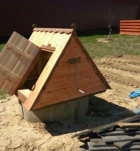 Строительство, чистка, ремонт колодца