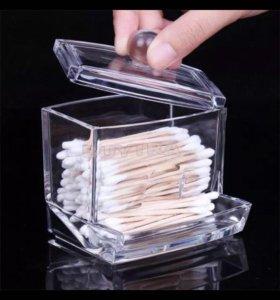 Контейнер для хранения ватных палочек