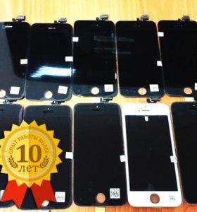 Стекла на iPhone 6s с заменой