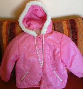 Куртка для девочки р. 110-116