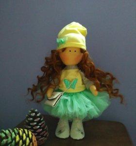 Интерьерная (текстильная) куколка