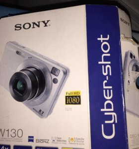 Фотоаппарат Sony DSC-W130 Cyber-shot 8,1 + чехол