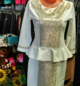 Шикарное корсетное платье