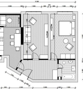 Планировка дома/квартиры/офиса