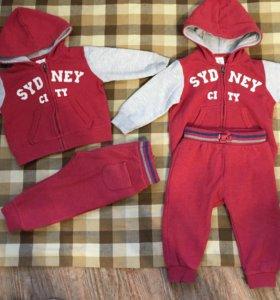 Детские костюмы Zara 2 комплекта.