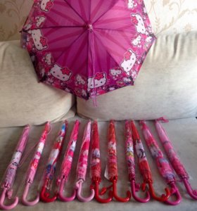 Детский зонт , новый, в упаковке, расцветки разные