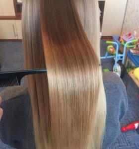 Ботокс для волос, Кератин, полировка волос.