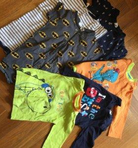 Детская одежда одним пакетом 12 вещей