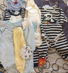 Пакет одежды на новорождённого