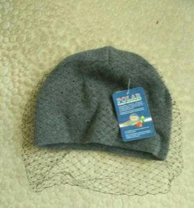 Новая шапка с вуалью
