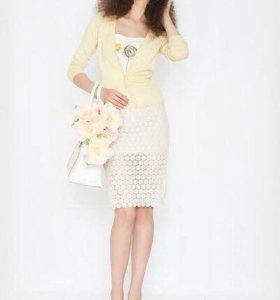 Комплект-тройка Burvin (юбка, кардиган, топ)