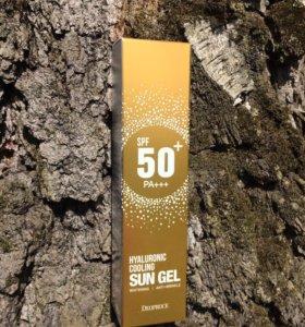 Солнцезащитный крем с гиалурон. кислотой Deoproce