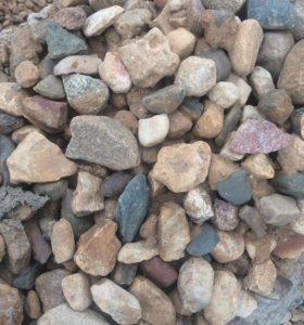 Щебень, песок, гравий