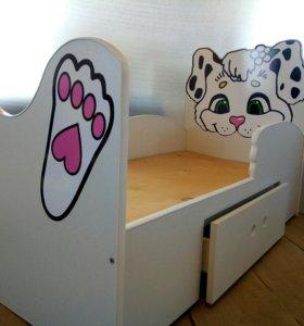 Кроватка далматинец
