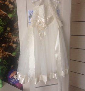 Бальное платье для девочки 6-8лет