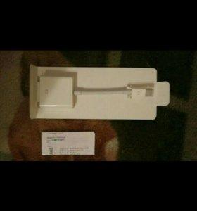 Юсб интернет адаптер и дивиай кабель apple