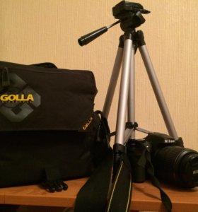 Цифровая зеркальна фотокамера D 3200 kit 18-55 DX