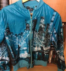 Куртка ветровка стразы