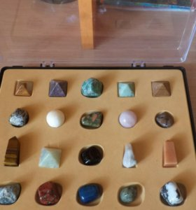 Коллекция камней+брошюра