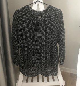 Блуза в горошек, ZARA
