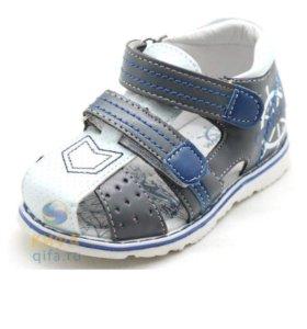 Детские сандали для мальчика , по стельке 13 см