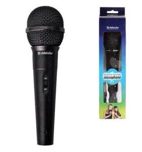 ✅ динамический микрофон для караоке Defender