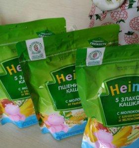 Кашки молочные Heinz