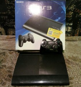 Sony playstation 3/ PS3 super slim + 34 игры