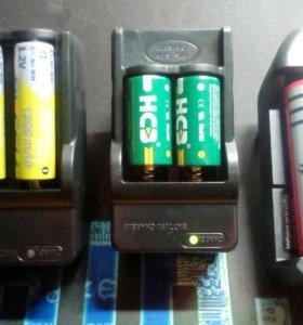 Зарядка для аккумуляторных батареек (NiMH, NiCD)