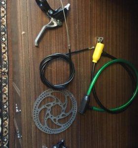 Дисковые тормоза для велосипеда , полный комплект