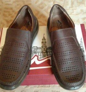 Туфли полуботинки Беларусь кожа новые.