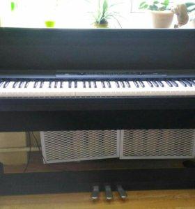 Фортепиано Korg LP350 в отл.состоянии, документы