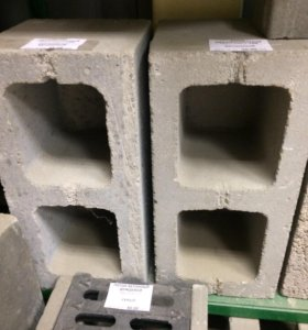 Блоки двухпустотные