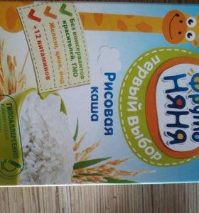 Рисовая безмолочная каша 4+