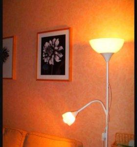 Торшер светильник ikea новый