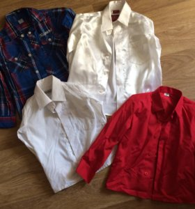 4 рубашки за 500₽