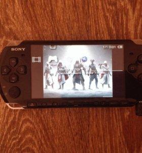 PSP+карта памяти на 8GB с играми