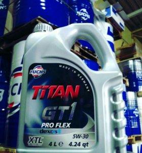 Моторное масло FUCHS TITAN GT1 PRO FLEX 5w30 4л