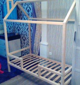 Кровать домик шалаш
