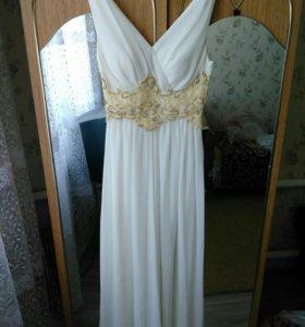 Платье греческое на свадьбу, выпускной вечер.
