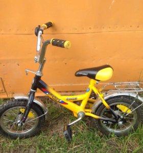 Велосипед от 3-х до 6-ти лет без доп. колёс