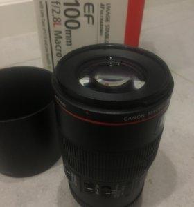 Canon ef 100 f 2.8 L macro is usm