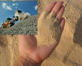 Песок, щебень с доставкой в Губкине