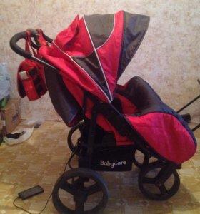 Коляска для двойни BabyCare