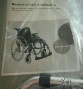 Новое инвалидное кресло в упаковке