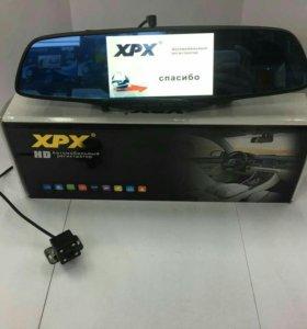 Видеорегистратор с камерой заднего вида xpx zx817✨